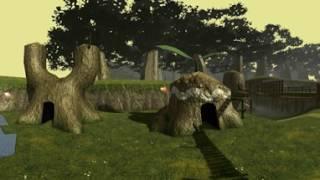 Download Zelda : OOT Kokiri Forest 360° Rendered Video