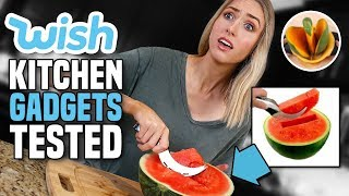 Download Testing KITCHEN GADGETS from WISH... What's ACTUALLY Worth It? Video