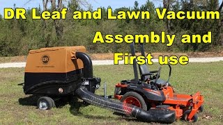 Download DR Leaf and Lawn Vacuum - Assembly and first use. Video