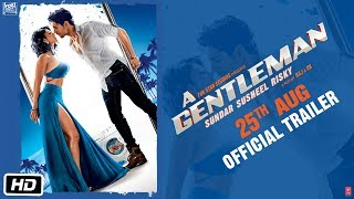 Download A GENTLEMAN - Sundar, Susheel, Risky | Official Trailer | Sidharth | Jacqueline | Raj & DK Video
