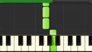 Download Piano - Synthesia - Frosty the Snowman - Beginner - Slow Video