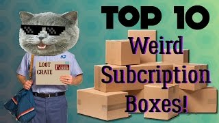 Download Top 10 - Weird Subscription Boxes Video