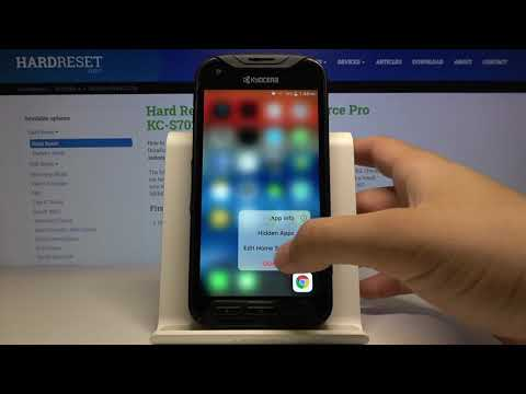How to Get Apple Layout in Kyocera DuraForce Pro - Download and Install iOS Launcher