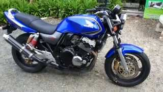 Download ขาย Honda CB400 Super Four V-Tec 2 ปี 2003 ขาย 80,000 บาท Video