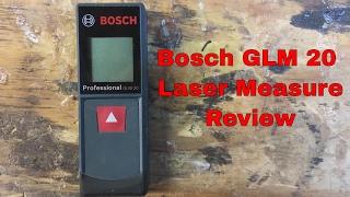 Download Bosch GLM 20 Laser Measure Video