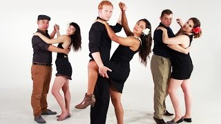 Download Americans Try Bachata Dancing Video