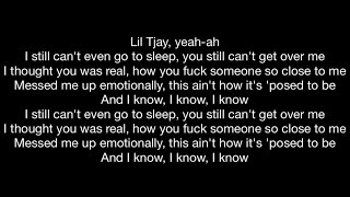 """Download Lil Tjay feat. Rileyy Lanez - Post To Be (Official Music Video Lyrics) """"True 2 Myself Album"""" Video"""