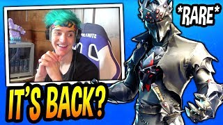 Download NINJA REACTS TO *NEW* BLACK KNIGHT V2 SKIN! *LEGENDARY* Fortnite FUNNY & EPIC Moments Video