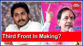Download KCR, Jagan Mohan Reddy, Owaisi To Form A Third Front? #VoteOn2019 Video
