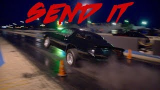 Download 1 OF THE HARDEST NITROUS HITS I'VE FILMED! THIS NITROUS CAMARO WAS TRYING TO BREAK SOMETHING! Video