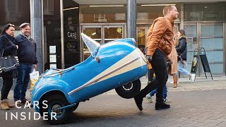 Download Collector Owns Two Rare Microcars Video