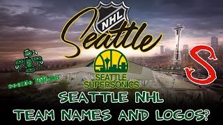 Download Potential NHL Seattle team names and logos! Video