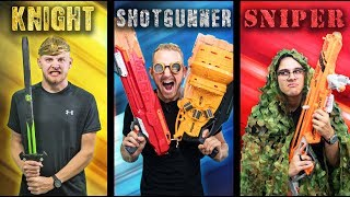 Download NERF Choose Your Class Challenge! Video