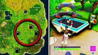Download Fortnite ″Visit different Gas Stations in a single match″ Week 5 Challenge Gas Station Locations Video