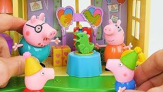 Download बच्चों के लिए सर्वश्रेष्ठ पेप्पा पिग लर्निंग वीडियो - जॉर्ज की जन्मदिन की पार्टी साहसिक! Video