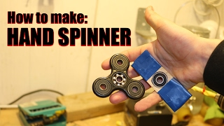 Download How To Make a HAND SPINNER, FIDGET TOY FOR FREE Video