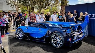 Download $8 Million Bugatti Vision GT Causes CHAOS (COPS GOT MAD) Video