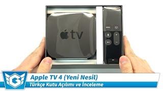 Download Apple TV 4 | Türkçe Kutu Açılımı ve İnceleme | Yeni Nesil, 4. Nesil | 4K UHD Kalitesinde Video
