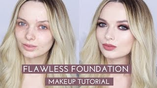 Download Flawless Foundation (Without Concealer!!) Makeup Tutorial // MyPaleSkin | ad Video