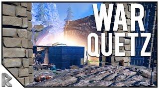 Download WAR QUETZ RAID! - Ark Survival Evolved ″The Volcano″ PVP #28 Video