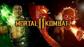 Download Mortal Kombat 11 - ALL Shang Tsung Intros and Outros Video