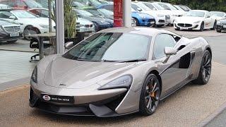 Download 2016 McLaren 540C in BLADE SILVER Video