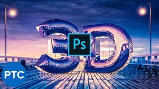 Download Create a REALISTIC CHROME TEXT Effect in Photoshop 3D [Easy-To-Follow Tutorial] Video