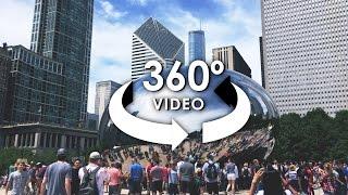 Download 360 VR video of Chicago City Tour shot on ALLie 360 Camera / Tour de la Ciudad de Chicago en 360 VR Video