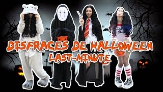 Download DISFRACES DE HALLOWEEN LAST MINUTE! ❤HARLEY QUINN | TOTORO | SENZA-VOLTO | HERMIONE Video