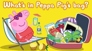 Download Peppa Pig | What's in My Bag - Counting for Kids, Learn Shapes for Kids | Learn With Peppa Pig Video