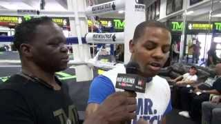 Download Mayweather Boxing Club tells Jeff Mayweather their favorite fighters Video