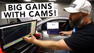 Download Ford Mustang V8 GT Comp Cams + SCT Tuning Dyno Results - Mullet Mustang - EP17 Video