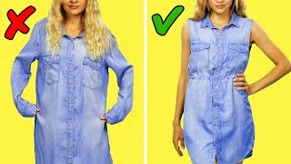 Download 19 EASY CLOTHING REVAMPS YOU HAVE TO TRY Video