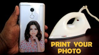 Download How to Print Your Favorite Photo on Phone Cover at Home Using Electric Iron - DIY Phone Cover Print Video