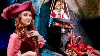 Download Disneyland UPDATED Pirates Of The Caribbean - NEW Ride Scenes & REDD Character Interaction Video