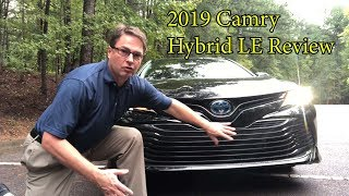 Download 2019 Camry Hybrid LE Review and Test Drive Video
