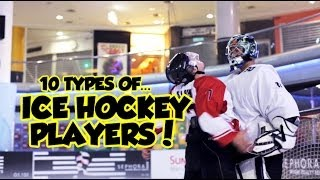 Download 10 types of Ice Hockey Players Video