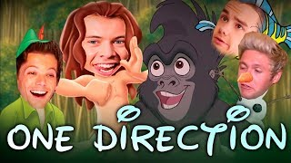Download ONE DIRECTION AS DISNEY CHARACTERS Video