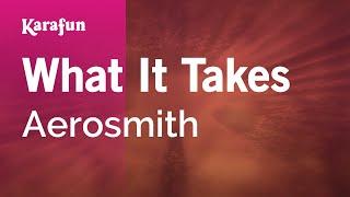 Download Karaoke What It Takes - Aerosmith * Video