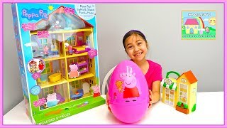 Download Peppa Pig Toys House & Surprise Egg Opening Toy Surprises for Kids Toy Review Video