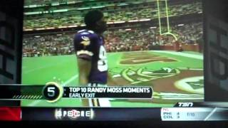 Download Top Ten- Randy Moss Moments Video