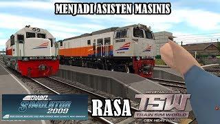 Cara menambahkan rute dan pasang lokomotif | trainz