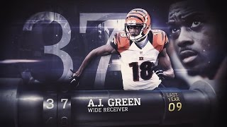 Download #37 A.J. Green (WR, Bengals) | Top 100 Players of 2015 Video