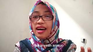 Download Parodi Cover Bukti Virgoun, bahasa SUNDA by Zafina Video