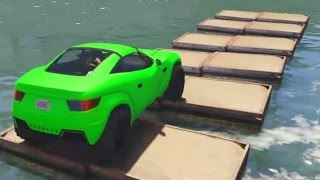 Download COCHES ACUATICOS!! GO!! - Gameplay GTA 5 Online Funny Moments (Carrera GTA V Xbox ONE) Video