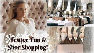 Download Festive Fun at Clivedon House & Shoe Shopping in Selfridges! | Fashion Mumblr Video