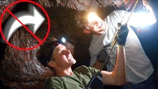 Download DANGEROUS UNDERGROUND CAVE! *do not try* Video