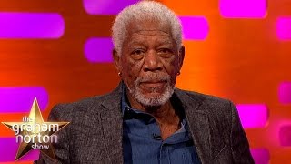 Download Morgan Freeman Re-Enacts The Shawshank Redemption | The Graham Norton Show Video