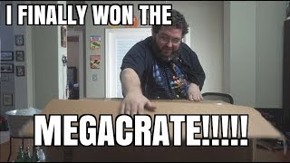 Download I FINALLY ″WON″ THE MEGACRATE! YOU CAN WIN ONE TOO! LOOTCRATE MEGACRATE! Video