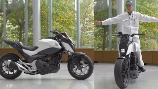 Download Future transportation: Self-balancing motorcycle; driver assist technology and more - Compilation Video
